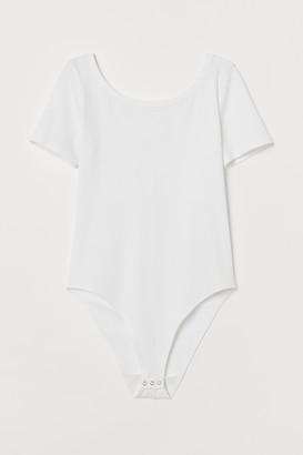 H&M Ribbed Bodysuit