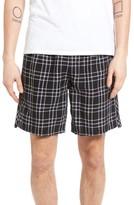 Zanerobe Men's Omni Check Linen Blend Shorts
