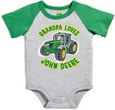 John Deere Baby Boy Family Graphic Bodysuit