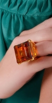 Large Topaz Ring