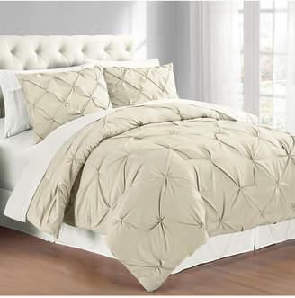 Premium Collection Twin Pintuck Bedding Comforter Set Bedding