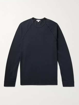 James Perse Brushed Cotton-Blend Jersey T-Shirt
