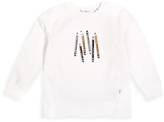 Miles Baby Baby Girl's Pencils Sweatshirt
