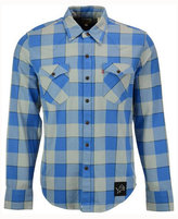 Levi's Men's Detroit Lions Plaid Barstow Western Shirt
