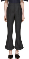 Jacquemus Grey le Pantalon Nino Trousers