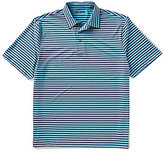 Roundtree & Yorke Performance Short-Sleeve InnoMotion Striped Polo