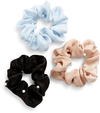 8 Other Reasons 3-Pack Imitation Pearl Scrunchies