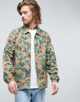 Element Murray Coach Jacket In Jungle Camo Print