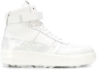 424 Rubber-Dipped High-Top Sneakers