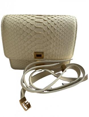 Celine Classic White Exotic leathers Handbags