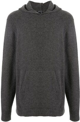 James Perse Felted Relaxed Fit Hoodie
