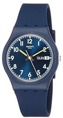 Swatch Sir Blue - GN718 (Blue) Watches