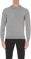 Paul Smith Long-sleeved knitted polo