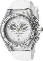 Technomarine Tm-115336 Women's Cruise Sport Chronograph Silicone & Dial Watch