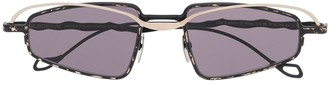 Kuboraum Slim Frame Lens Sunglasses