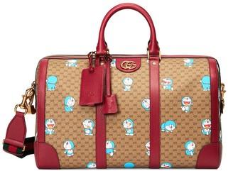 Gucci x Doraemon medium duffle bag