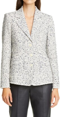 Rebecca Taylor Eyelash Tweed Jacket