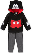 Nannette Baby Boys' 2-Pc. Mickey Mouse Hoodie & Pants Set