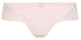 George Floral Lace Frill Thong