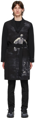 Undercover Black Cindy Sherman Edition Printed Coat