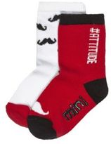 River Island Mini boys red socks multipack