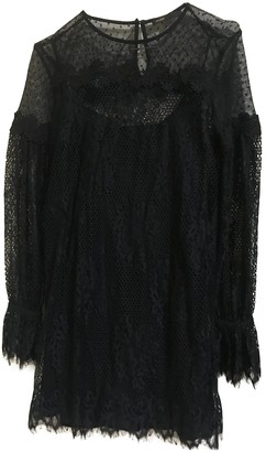 Maje Black Lace Dresses