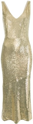 Rachel Zoe Lola sequin midi-dress