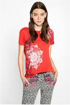 Desigual - Femme T-Shirt Manches