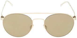 Mykita Minttu Round Metal Sunglasses
