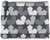 Ports 1961 star camouflage wash bag - men - Calf Leather/Polyamide/PVC - One Size