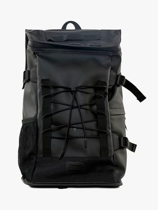 Rains Mountaineer Water Resistant Backpack, Black