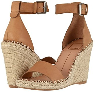 Dolce Vita Noor (Tan Leather) Women's Wedge Shoes