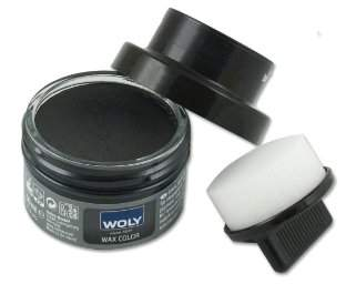 Woly Unisex-Adult Wax Colour Classic - Scuff Cover Shoe Treatments and Polishes White