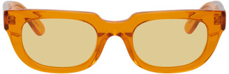 Han Kjobenhavn Orange Root Sunglasses