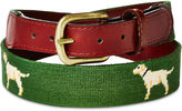 Smathers and Branson OKL Exclusive Yellow Labs Belt, Forest