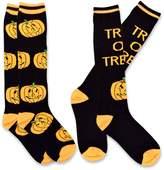 TeeHee Socks TeeHee Novelty Halloween Fun Knee High Socks for Women 2-Pack