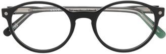 S'nob Circle Frame Glasses