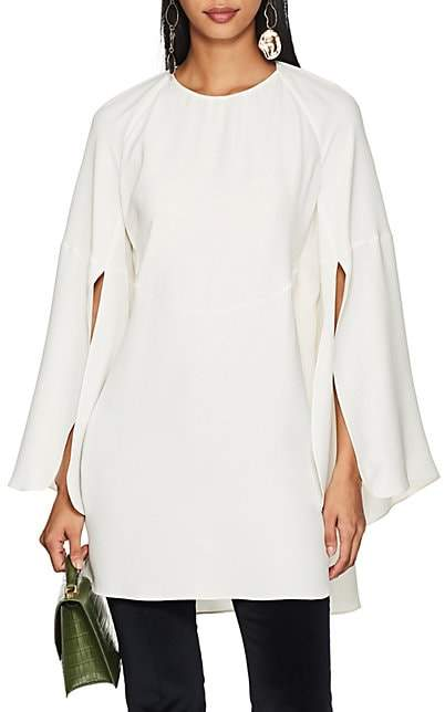 Derek Lam Women's Silk Crepe Blouse - White