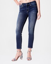 Nicole Miller High Rise Ankle Skinny Eco Jean