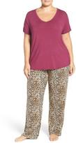 PJ Salvage Stretch Modal Pajamas (Plus Size)