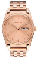 Nixon Women's 'Jane' Quartz Metal and Stainless Steel Automatic Watch, Color:Rose Gold-Toned (Model: A954897-00)
