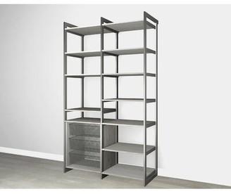 "Martha Stewart California Closets The Everyday System 87"" Kitchen Pantry Finish: Bedford Grey Woodgrain Graphite"