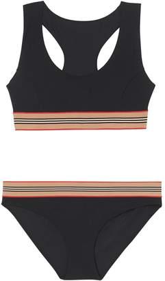 Burberry Icon Stripe Detail Bikini