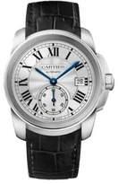 Cartier Calibre de Automatic Stainless Steel & Alligator Strap Watch