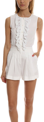 Moschino Boutique Pleated Romper