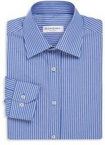 Saint Laurent Contrast Pinstripe Dress Shirt