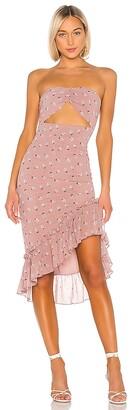 superdown Dion Strapless Dress