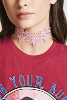 Forever 21 Scalloped Crochet Choker