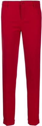 Liu Jo Cropped Slim Tailored Trousers