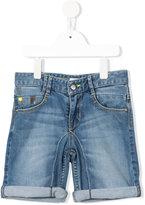 DKNY denim shorts - kids - Cotton/Spandex/Elastane - 10 yrs